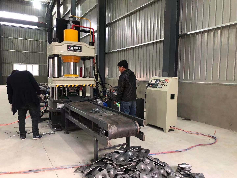陕西200吨半自动锚杆盘冷挤压成型液压机