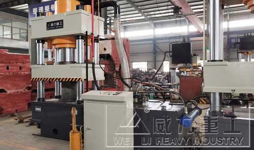 500吨锚杆盘冷压成型液压机
