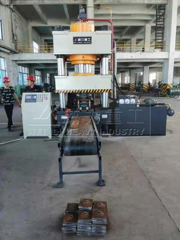 630吨锚杆锚索盘冷压成型液压机