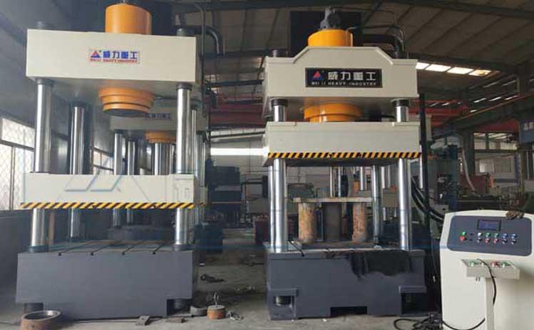 500吨冷压成型四柱液压机